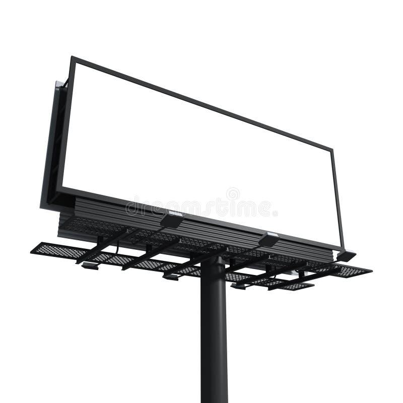 Download Empty billboard stock illustration. Image of board, selling - 20381867