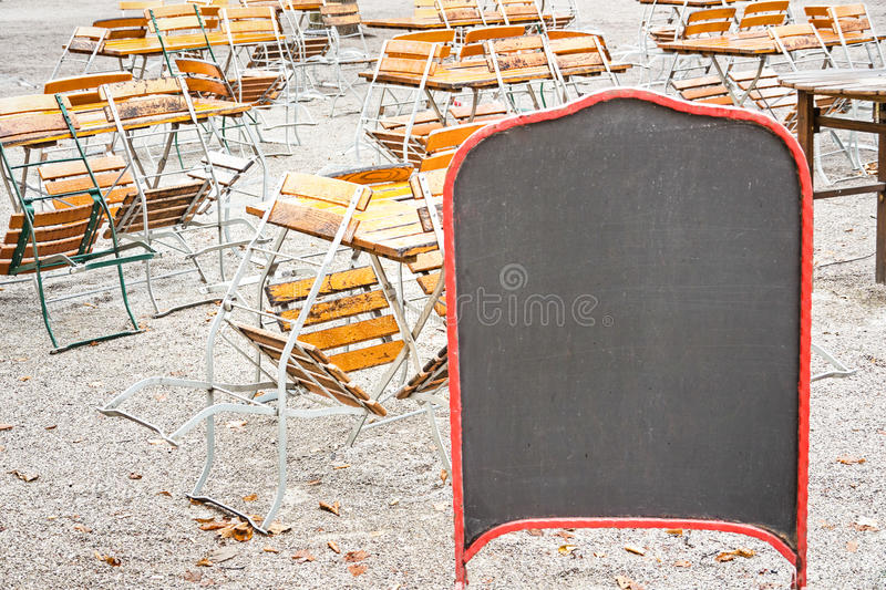 Download Empty black board stock photo. Image of front, nobody - 28409922