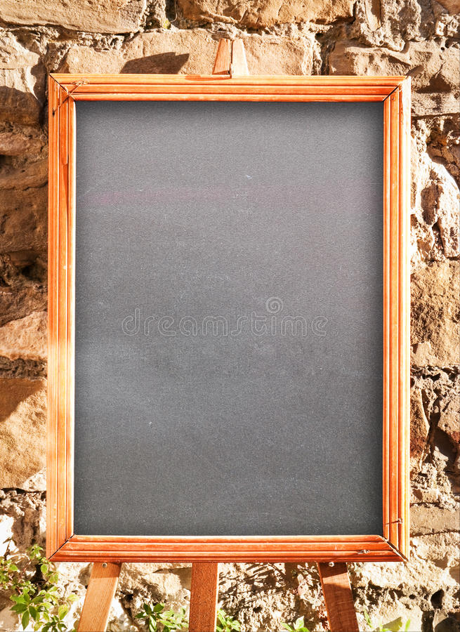 Download Empty black board stock photo. Image of front, nobody - 28869784