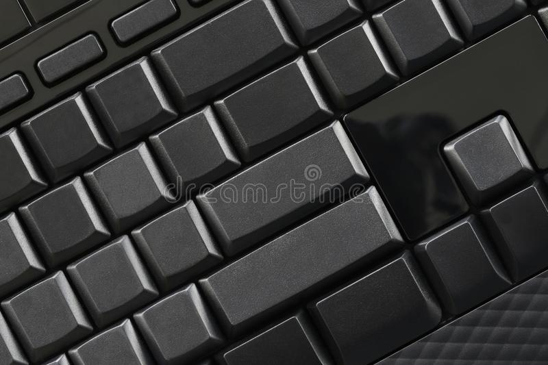 Download Empty Black Button Of Computer Keyboard. Stock Photo - Image of information, keypad: 108797434