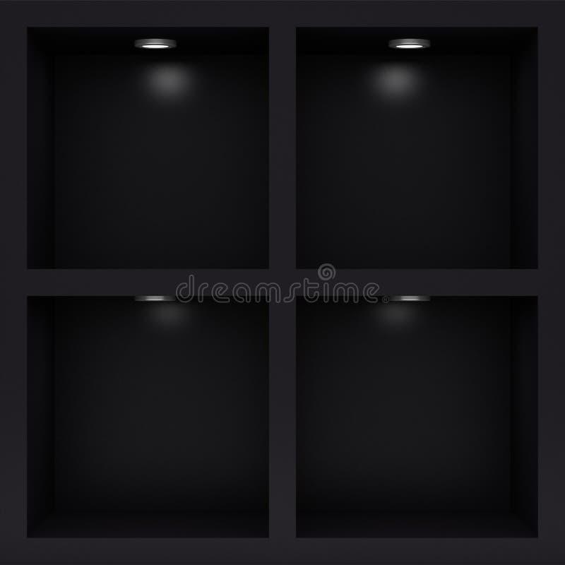 Free Empty Black Rack Stock Images - 18524964