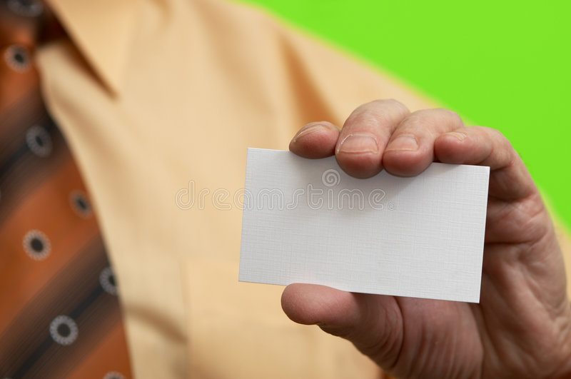 Empty Blank In Close Up Royalty Free Stock Photography