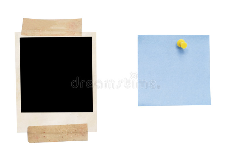 Empty blank and phote royalty free stock images