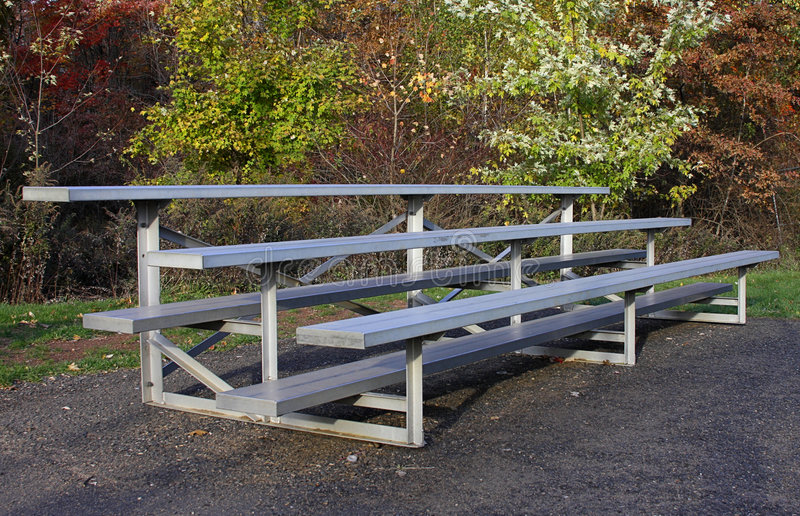 Download Empty Bleachers stock photo. Image of soccer, sports, watch - 3579764