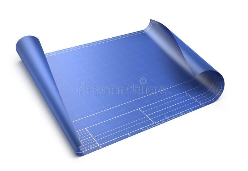 Download Empty blueprint stock illustration. Image of city, design - 25897164