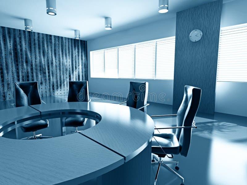 Download Empty boardroom stock illustration. Illustration of business - 5202182
