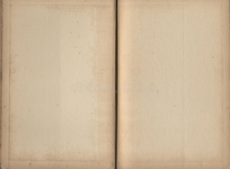 Empty book pages royalty free stock images