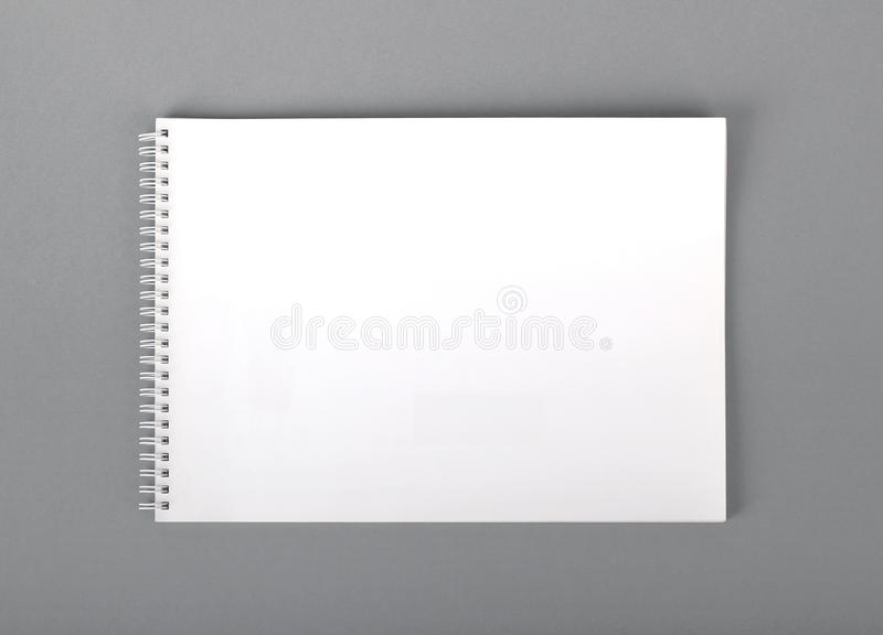 Empty booklet royalty free stock images