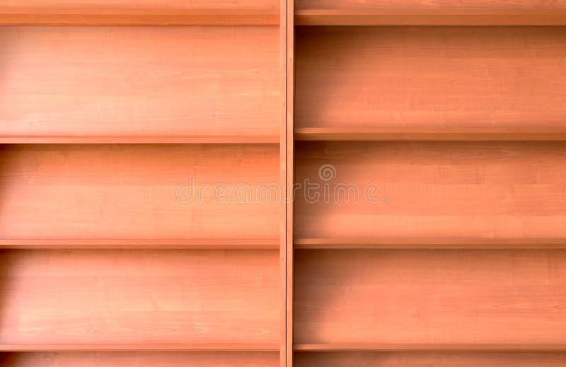 Empty Bookshelf Royalty Free Stock Photography