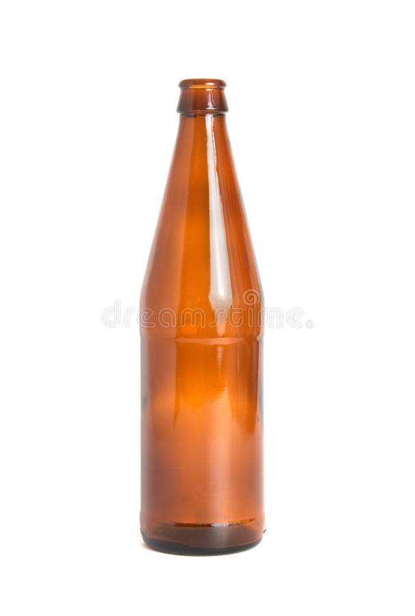 Download Empty bottle of beer stock photo. Image of clipping, cider - 12792704