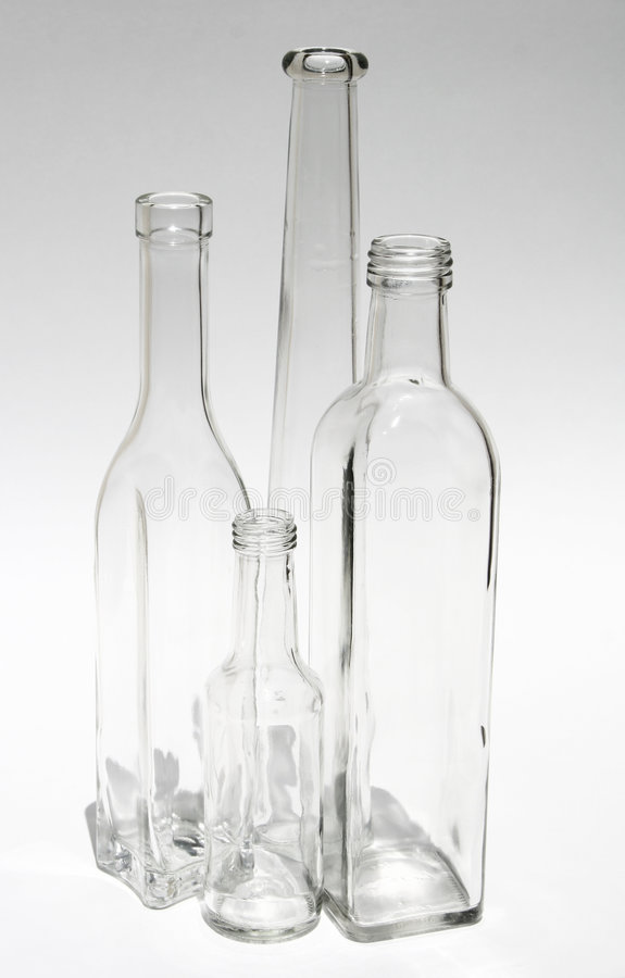 Download Empty Bottles stock image. Image of glass, container, empty - 566461