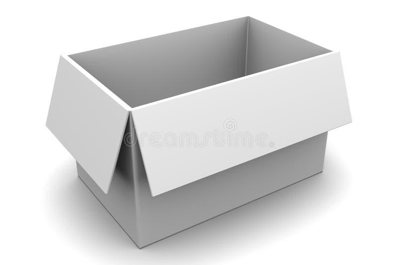Empty Box stock illustration