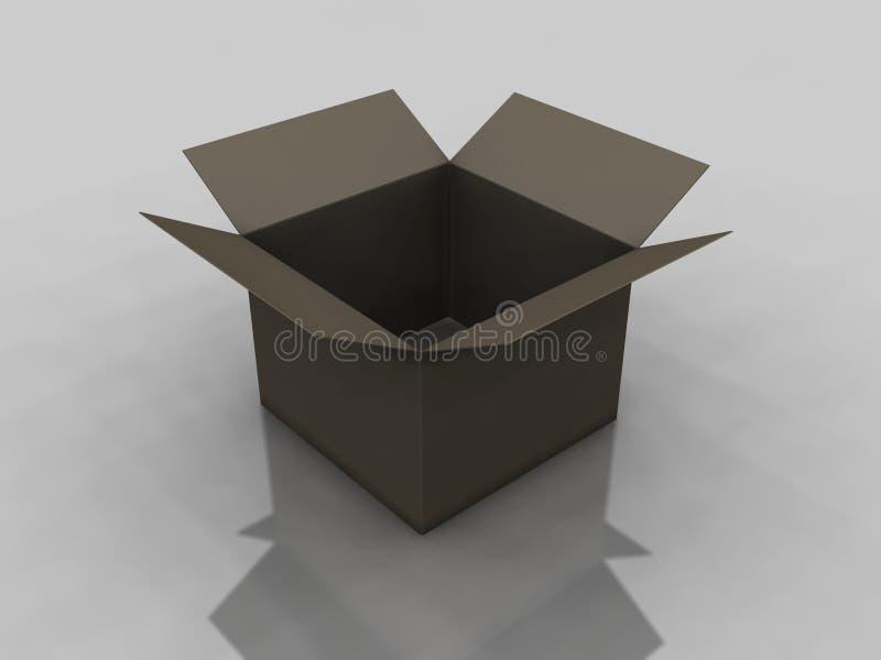 Empty Box stock images