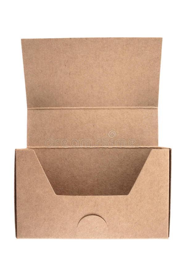 Empty business card cardboard box stock photo image of open download empty business card cardboard box stock photo image of open packing 35694250 reheart Image collections