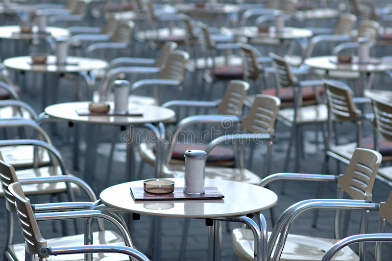 Empty cafe stock images