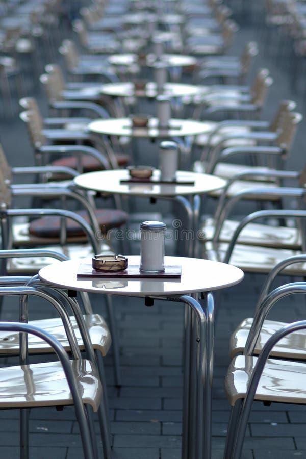Empty cafe royalty free stock image