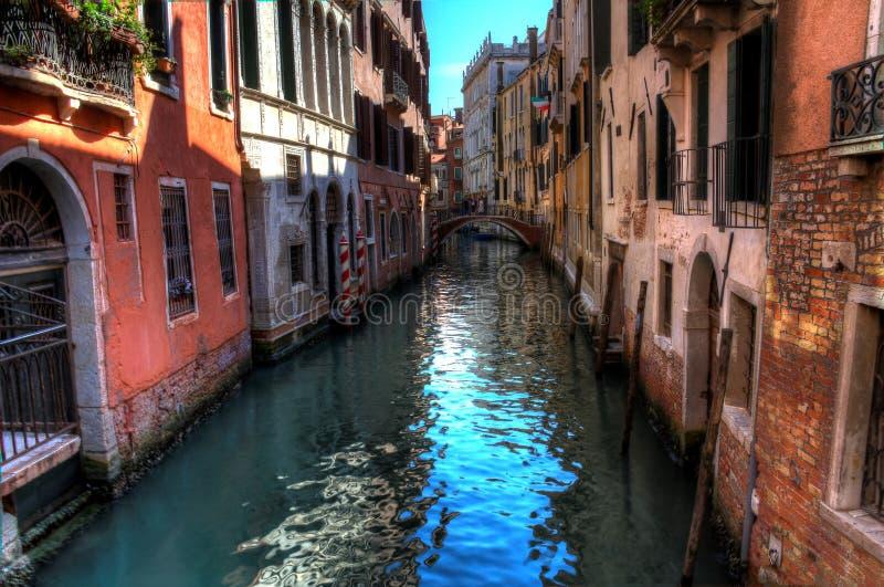 Empty Venice Canal royalty free stock photos