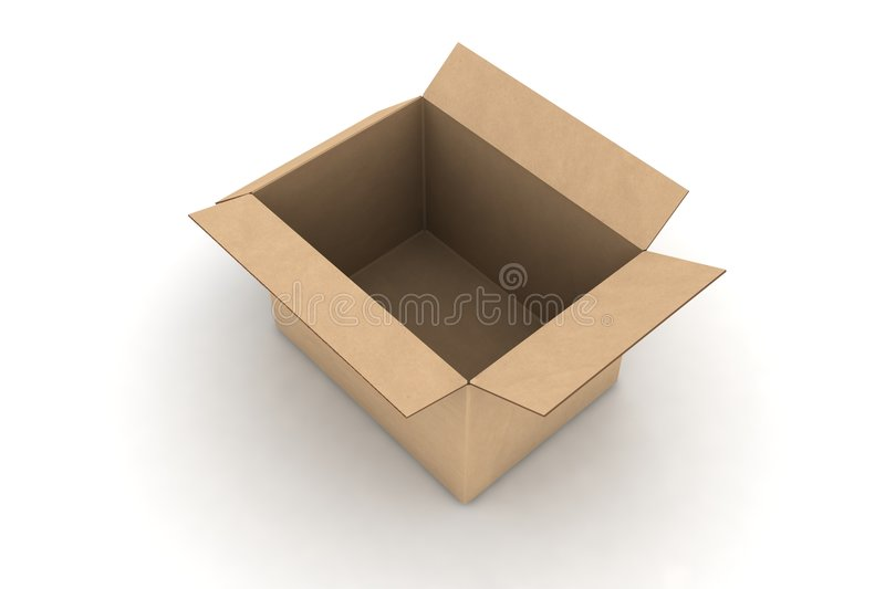 Download Empty Cardboard Royalty Free Stock Images - Image: 6292069