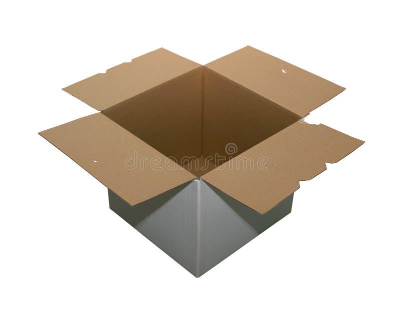 Empty cardboard box stock photography