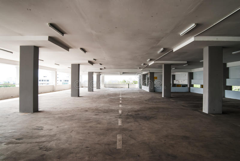 Download Empty Carpark Area stock photo. Image of parking, multi - 27205684