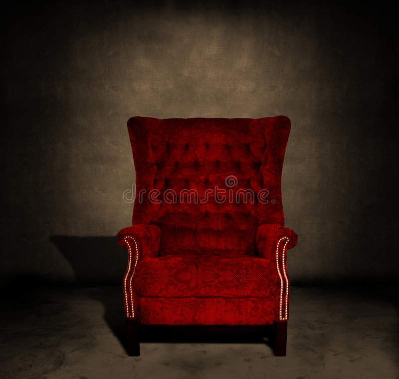 Empty chair royalty free stock images