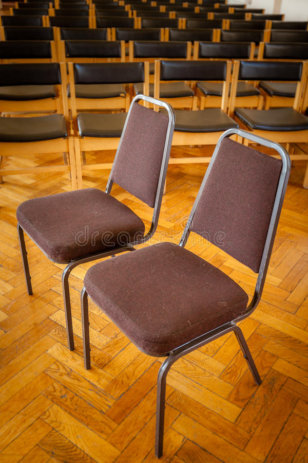 Download Empty chairs in the church stock photo. Image of objects - 39502946
