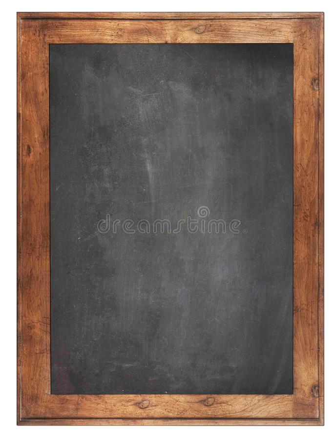 Empty Chalk board Background/Blank.Blackboard Background. Blackboard texture. Chalkboard or School board use for background royalty free stock photos