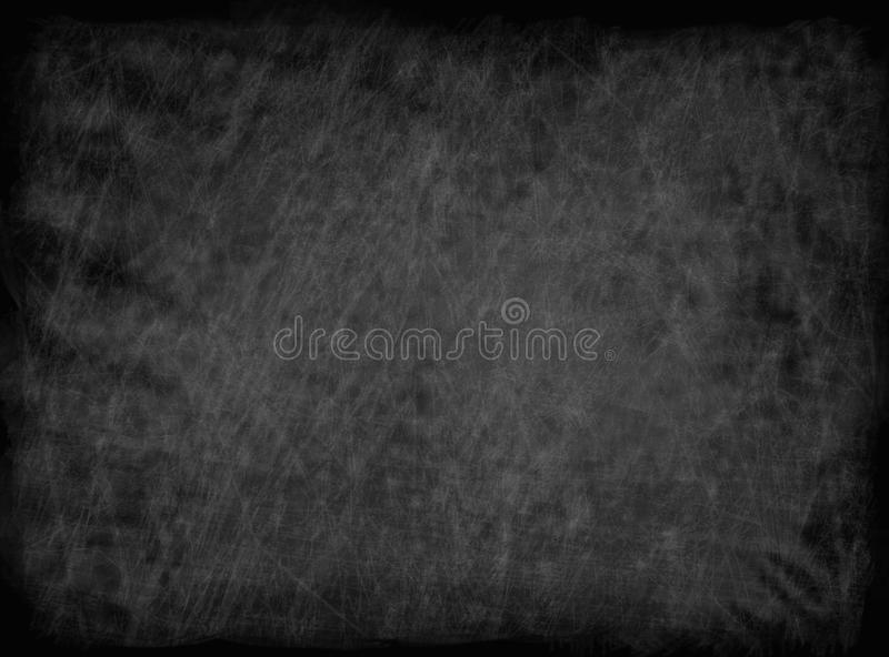 Empty Chalk board Background royalty free stock images