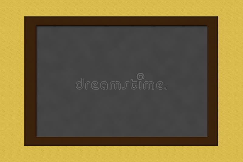 Empty chalkboard stock image