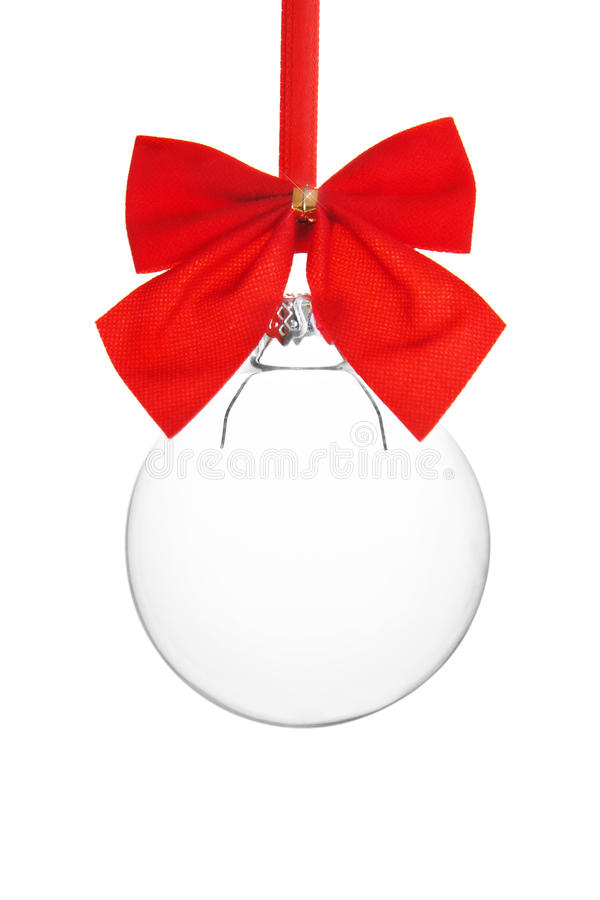 Empty Christmas ornament royalty free stock photos