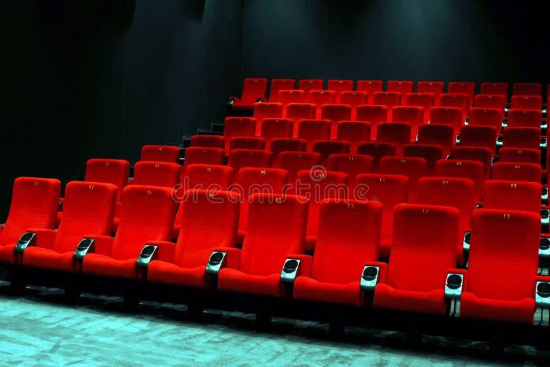 Empty cinema royalty free stock images