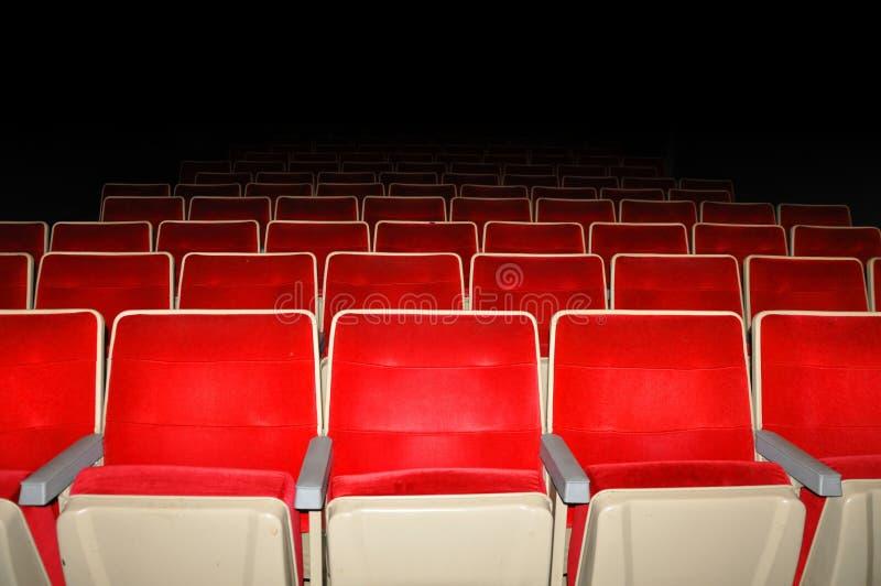 Empty cinema. stock photos