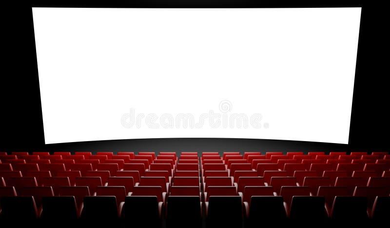 Empty Cinema Screen With Auditorium Stock Photos Image