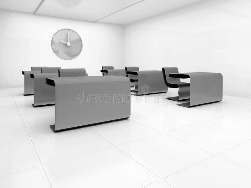 Download Empty class room stock illustration. Illustration of clean - 15072678