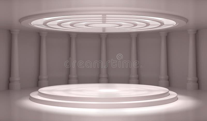 Download Empty Classic Interior stock illustration. Image of empty - 17446541