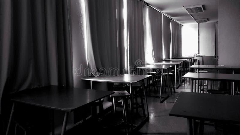 An empty classroom royalty free stock photos