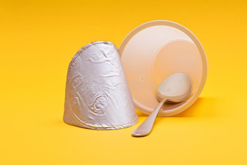 Empty Yogurt Spoon Stock Photos - Download 231 Royalty ...