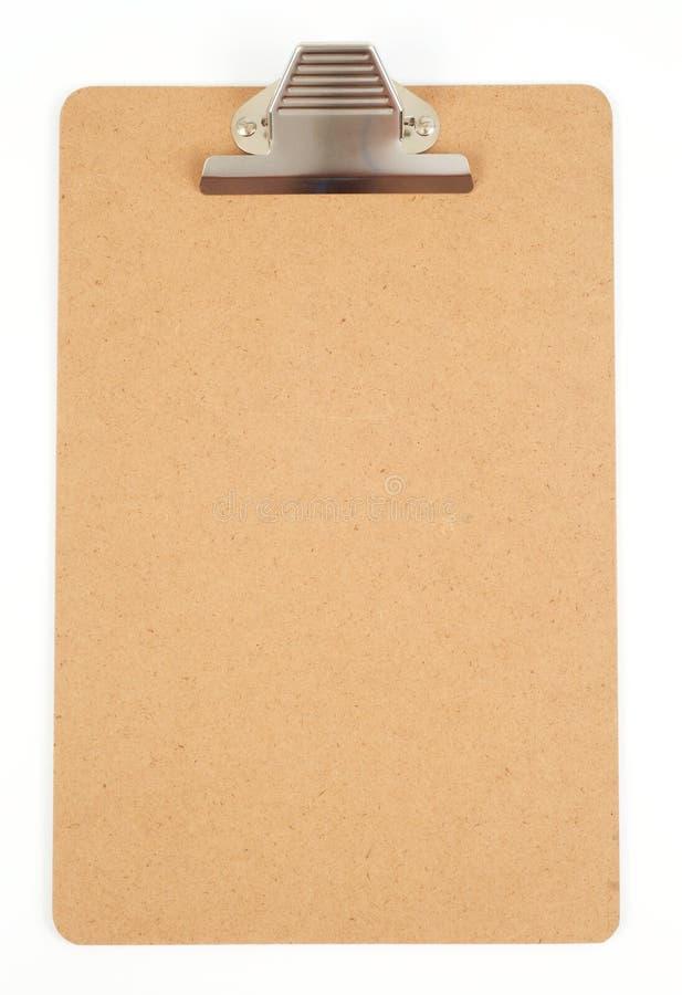 Empty clipboard royalty free stock photo