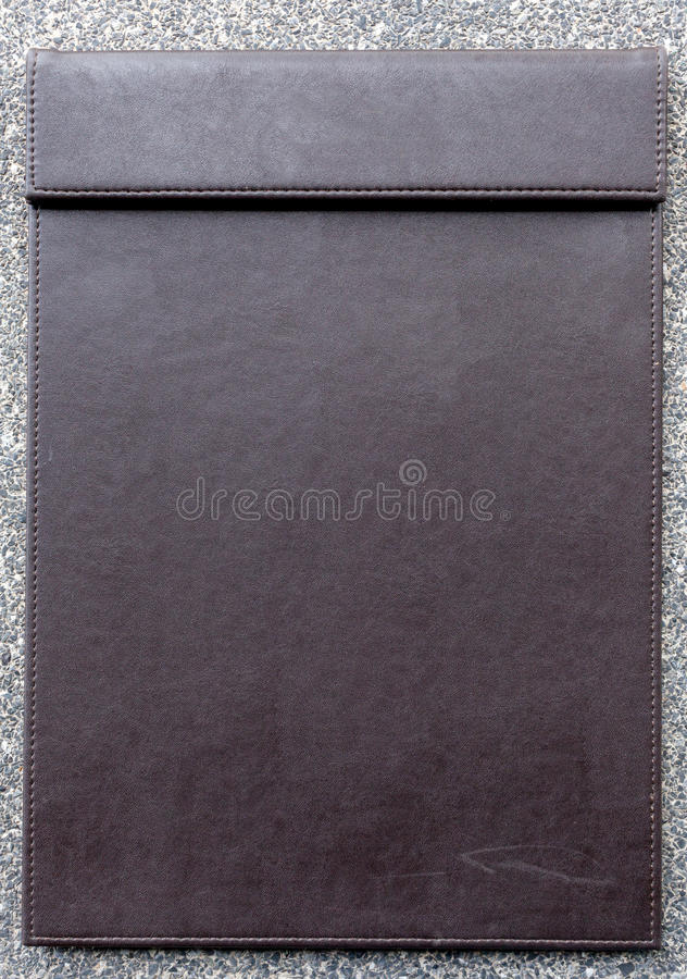 Empty clipboard for notepad. Empty clipboard for notepad, for memorandum in meeting room stock photos