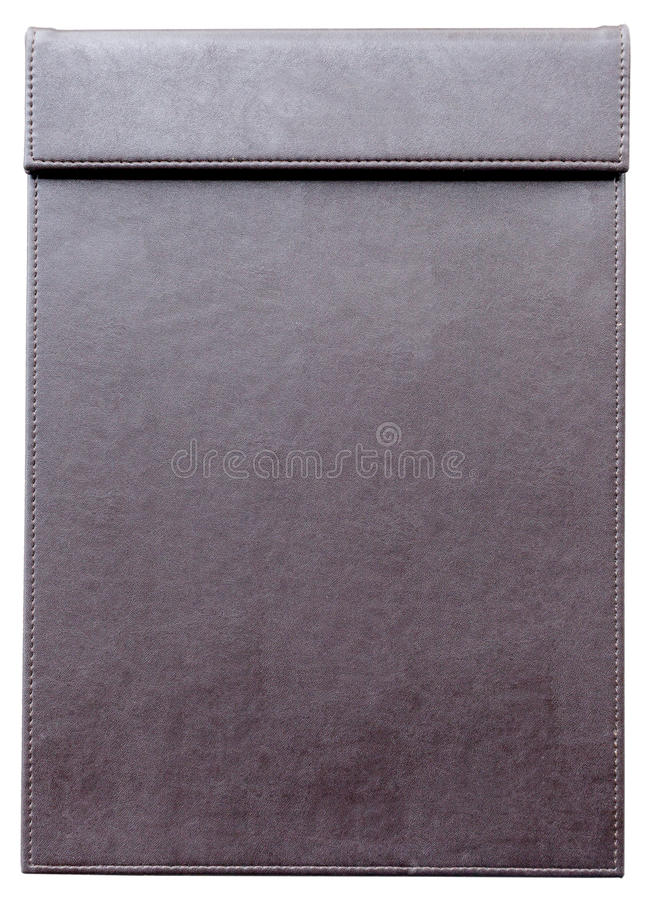Empty clipboard for notepad for memorandum. Empty clipboard for notepad, for memorandum in meeting room royalty free stock image