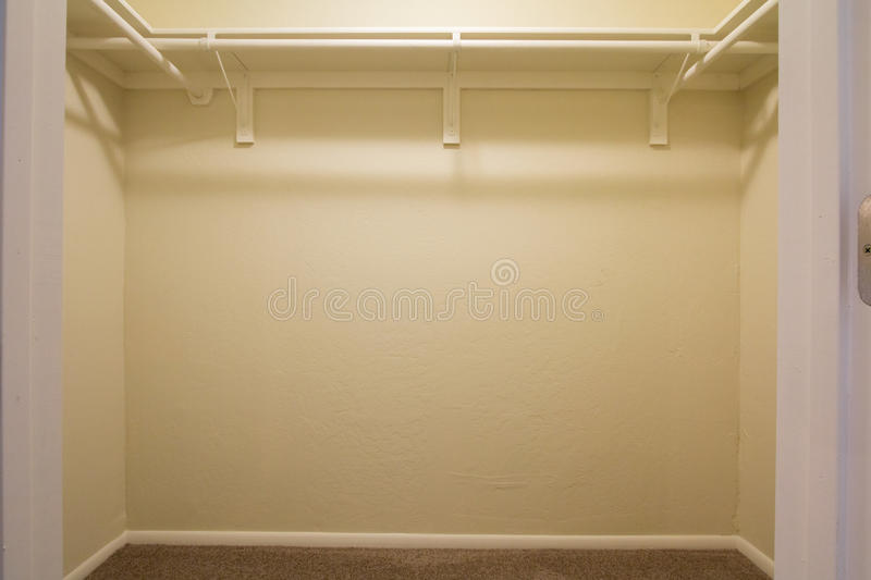 Empty Closet stock image Image of home house vacant 48386429