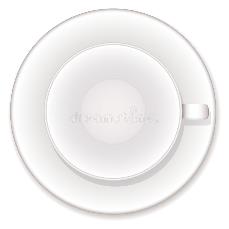 Download Empty coffe cup stock vector. Image of espresso, china - 21345991