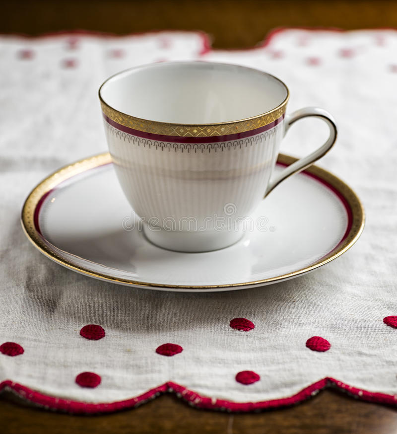 Download Empty Coffee Cup stock photo. Image of up, cloth, closeup - 35302634