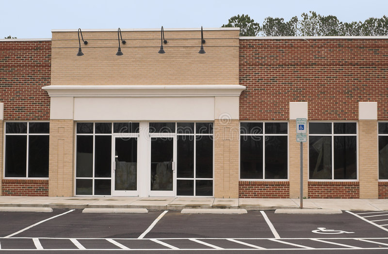 Empty Commercial Building royalty free stock photos