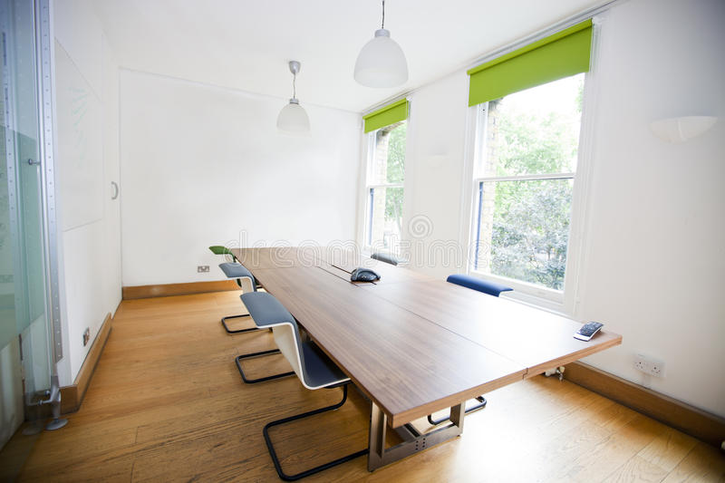 Green Sofa In Empty Office Stock Image Image Of Pendant