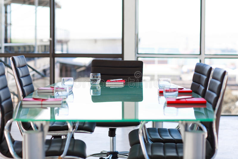 Download Empty Corporate Meeting Room Stock Photo - Image of meet, pens: 9508092