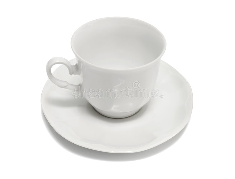 Empty cup royalty free stock photography