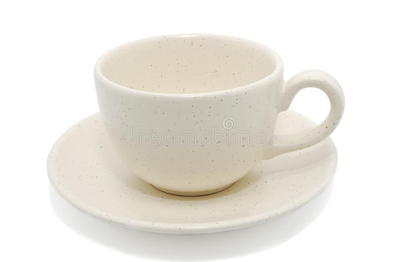 Download Empty Cup With Saucer Stock Photo - Image: 11167590