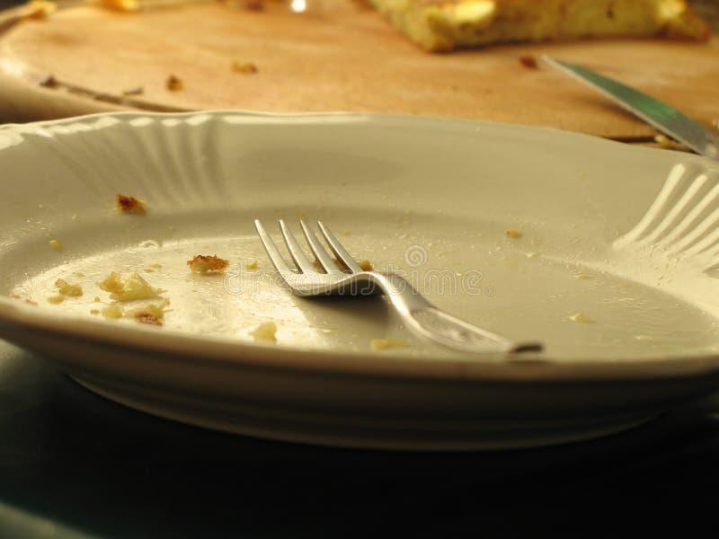 Empty dish royalty free stock photography