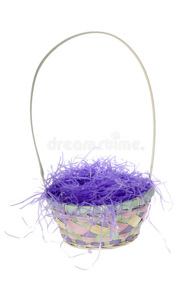 Download Empty Easter Basket Stock Photo Image Of Purple